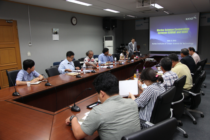 International Seminar on the Marine Science Cooperation with KOSRAE