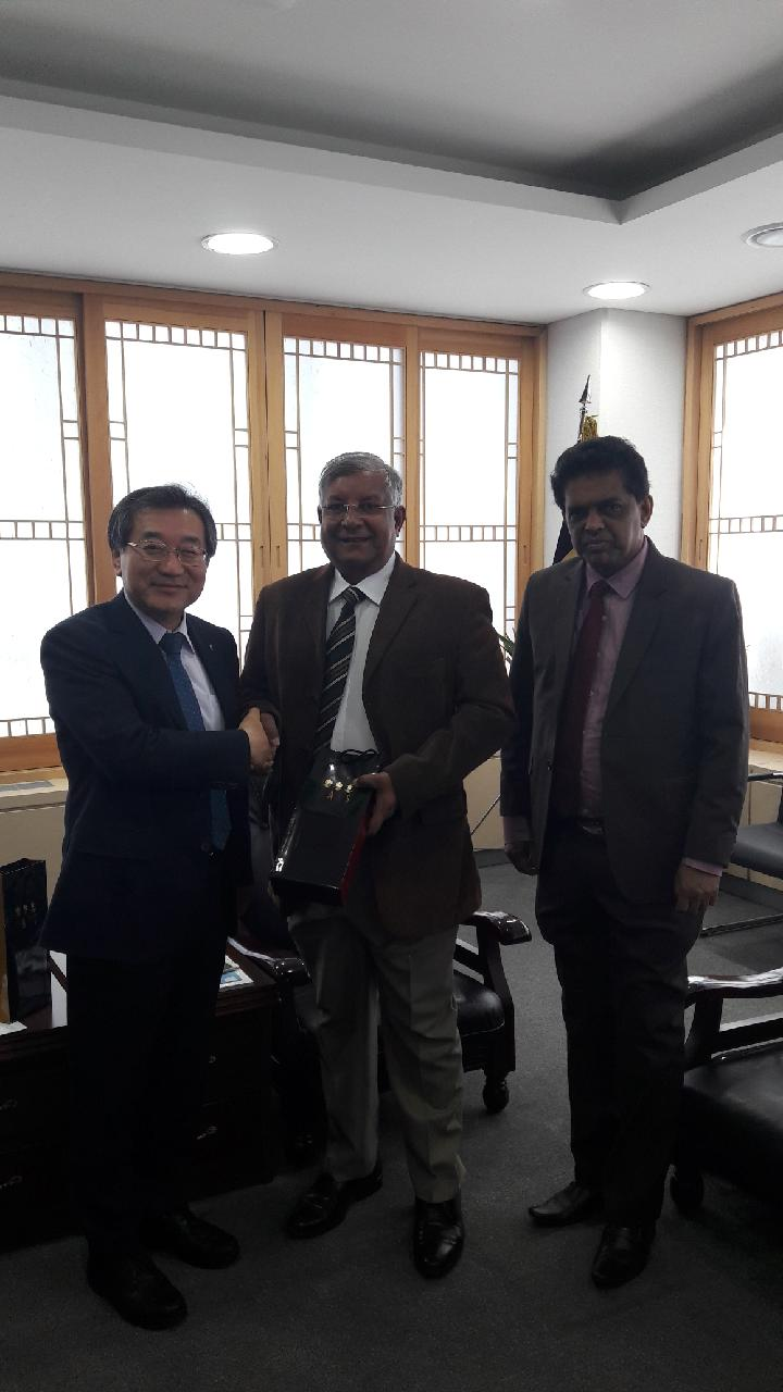 Visit from the Chairman of NARA, Sri Lanka_image1