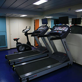 Fitness Room and Sauna
