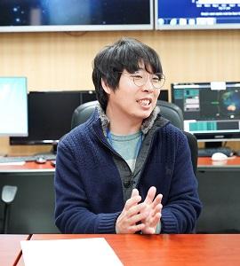 사진 9. KIOST 해양위성센터 안재현 선임연구원