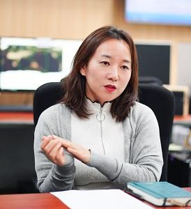 사진 10. KIOST 해양위성센터 박명숙 책임연구원